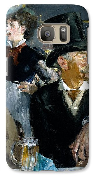 At The Cafe Concert Galaxy Case by Edouard Manet