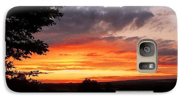 Galaxy Case featuring the photograph At The End Of The Day ... by Juergen Weiss