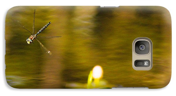 Galaxy Case featuring the photograph At The Lake by Angi Parks