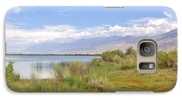 Galaxy Case featuring the photograph At The Lake by Marilyn Diaz