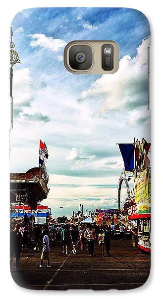 Galaxy Case featuring the photograph At The Ohio State Fair 2013 by Beth Akerman