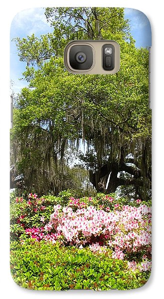 Galaxy Case featuring the photograph At The Park by Beth Vincent