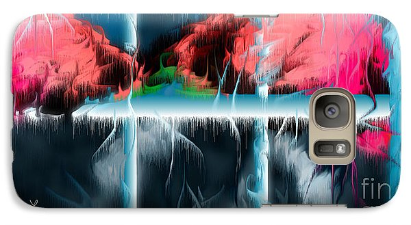 Galaxy Case featuring the digital art At The Time Of Disappearance by Leo Symon