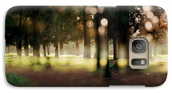 Galaxy Case featuring the photograph At The Yarkon Park Tel Aviv by Dubi Roman
