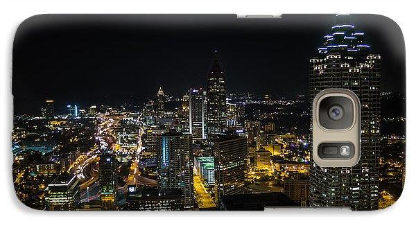 Atlanta City Lights Galaxy S7 Case