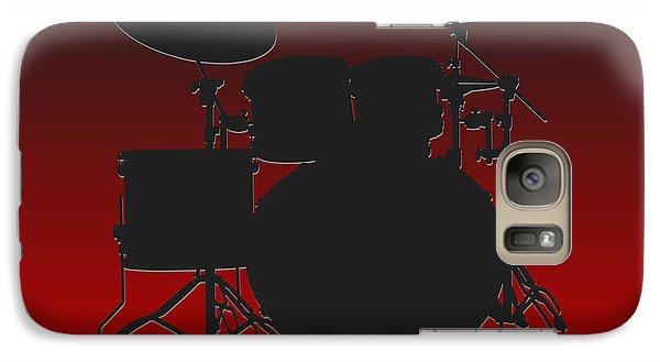 Atlanta Falcons Drum Set Galaxy S7 Case by Joe Hamilton