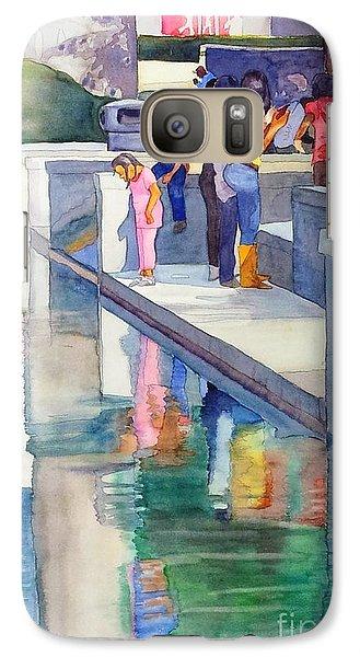Galaxy Case featuring the painting Atlanta Kids by Yolanda Koh