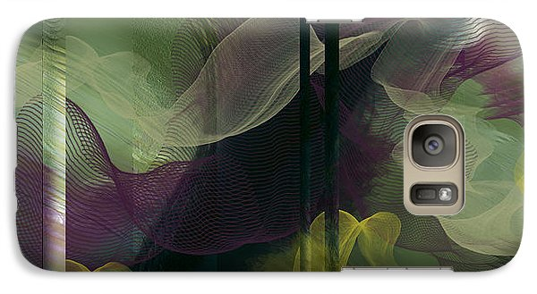 Galaxy Case featuring the digital art Atlantian Scarves by Constance Krejci