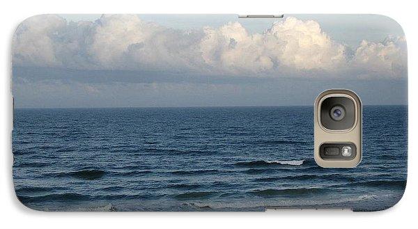Galaxy Case featuring the digital art Atlantic At Daytona Beach by Brian Johnson