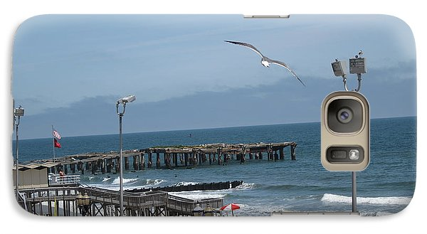 Galaxy Case featuring the photograph Atlantic City 2009 by HEVi FineArt