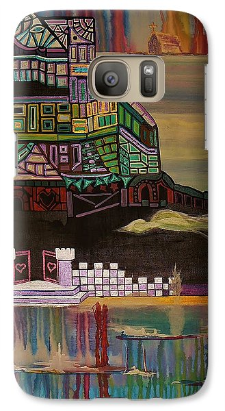 Galaxy Case featuring the painting Atlantis by Barbara St Jean