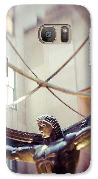 Galaxy Case featuring the photograph Atlas by Takeshi Okada