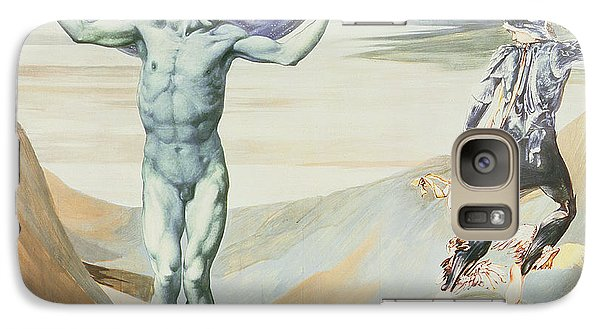 Atlas Turned To Stone, C.1876 Galaxy S7 Case by Sir Edward Coley Burne-Jones