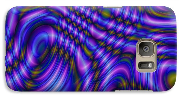 Galaxy Case featuring the digital art Atracareis by Jeff Iverson