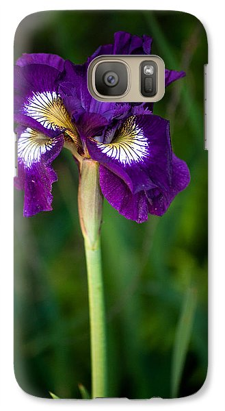 Galaxy Case featuring the photograph Attention by Penny Lisowski