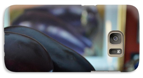 Galaxy Case featuring the photograph Aubergine A Go Go  by Brian Boyle