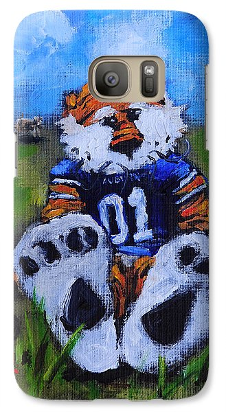 Aubie With The Cows Galaxy S7 Case