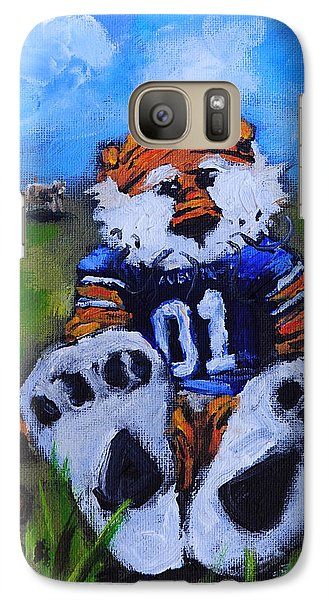 Cow Galaxy S7 Case - Aubie With The Cows by Carole Foret