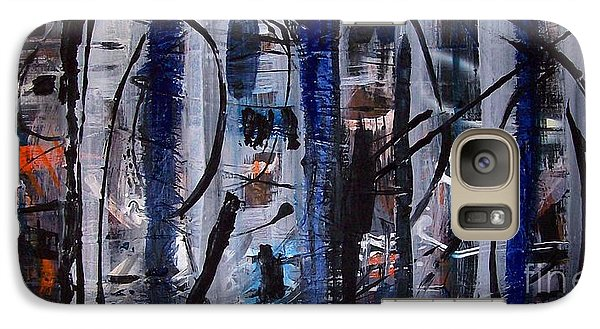 Galaxy Case featuring the painting Audacity by Yul Olaivar