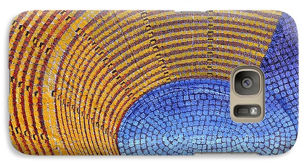 Galaxy Case featuring the painting Auditorium by Mark Howard Jones