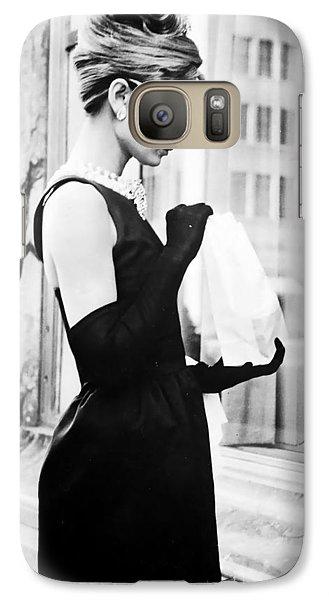 Audrey At Tiffanys Galaxy S7 Case by Georgia Fowler