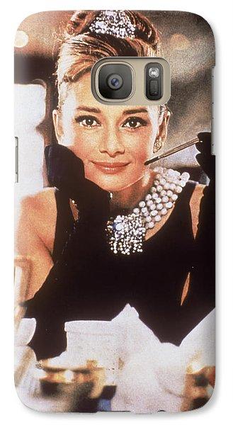 Audrey Hepburn Galaxy S7 Case by Georgia Fowler