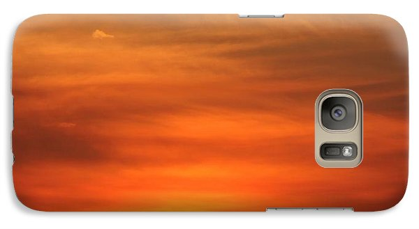 Galaxy Case featuring the photograph August Morning by Erica Hanel