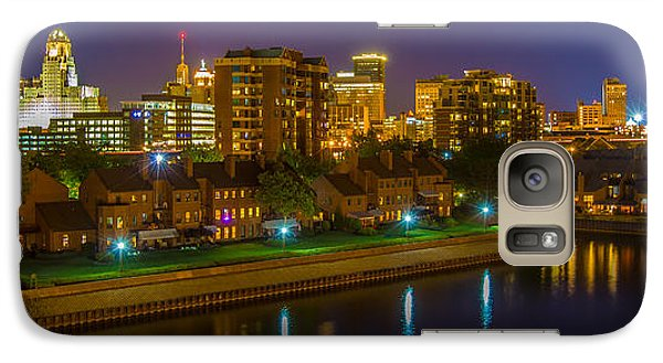 Galaxy Case featuring the photograph August Night In Buffalo by Don Nieman