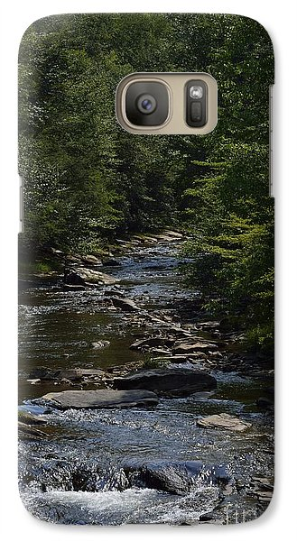 Galaxy Case featuring the photograph August On Gandy by Randy Bodkins