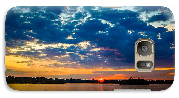 August Sunset Over Lake Nagawicka Galaxy S7 Case