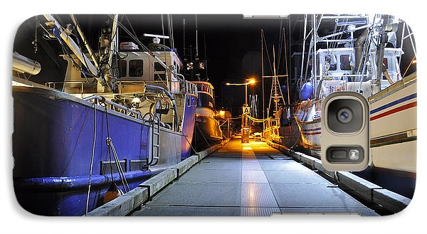 Galaxy Case featuring the photograph Auke Bay By Night by Cathy Mahnke
