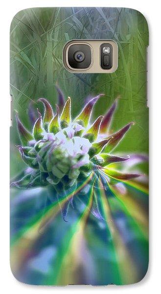 Galaxy Case featuring the photograph Aura by Adria Trail