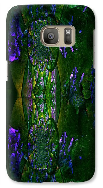 Galaxy Case featuring the painting Aura Iphone Case by Robert Kernodle