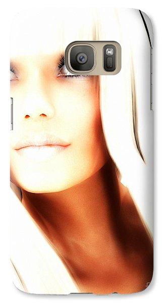 Galaxy Case featuring the digital art Aurya by Sandra Bauser Digital Art