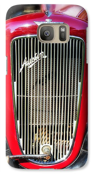 Galaxy Case featuring the photograph Austin Motor Company by Alan Raasch