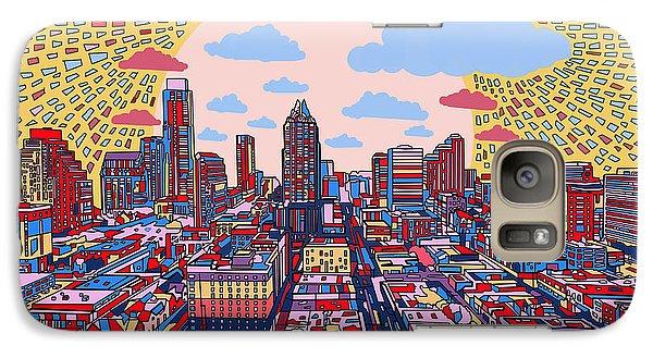 Austin Texas Abstract Panorama 2 Galaxy S7 Case