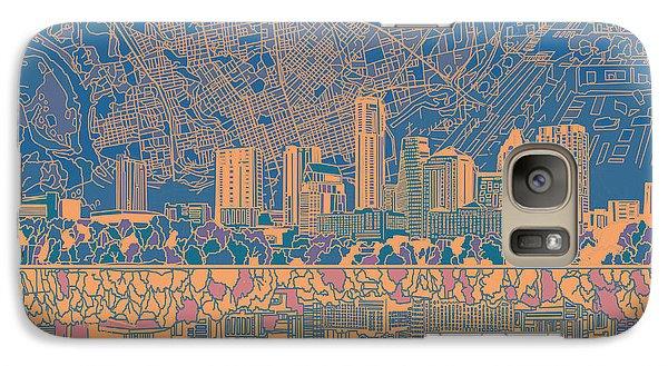 Austin Texas Skyline 2 Galaxy S7 Case