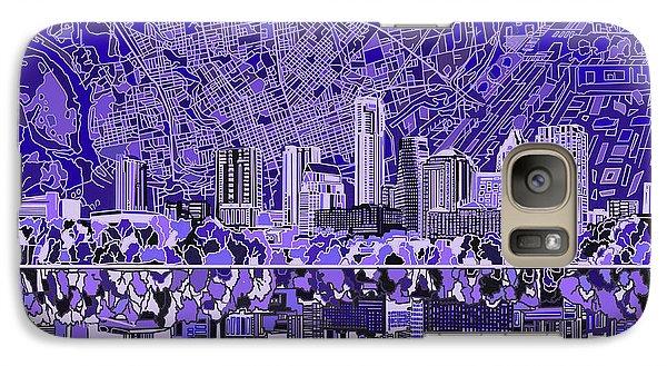 Austin Texas Skyline 4 Galaxy S7 Case