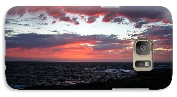 Galaxy Case featuring the photograph Australia Sunset by Henry Kowalski