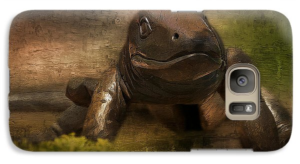 Galaxy Case featuring the photograph Australian Goanna Art 01 by Kevin Chippindall