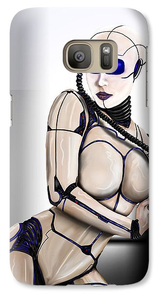 Galaxy Case featuring the digital art Automation by Jeremy Martinson