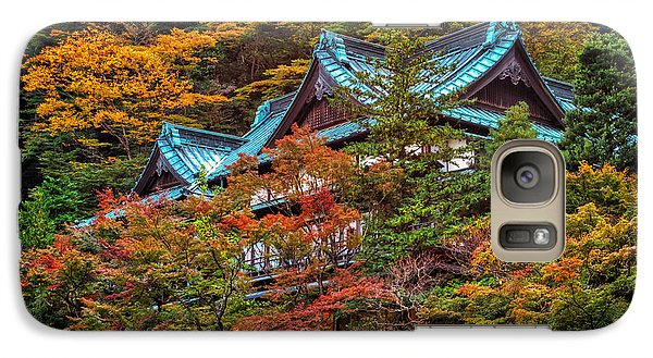 Galaxy Case featuring the photograph Autum In Japan by John Swartz