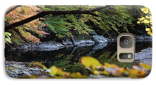 Galaxy Case featuring the photograph Autum In Philadelphia by Dorin Adrian Berbier
