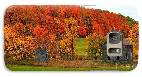 Galaxy Case featuring the photograph Autumn Abandoned by Terri Gostola