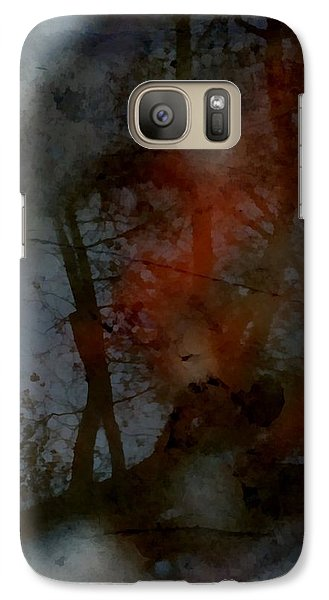 Galaxy Case featuring the photograph Autumn Abstract by Photographic Arts And Design Studio