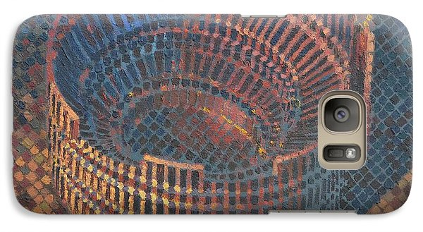 Galaxy Case featuring the painting Autumn Amphitheatre by Mark Howard Jones