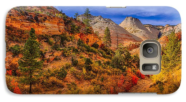 Galaxy Case featuring the photograph Autumn Arroyo by Greg Norrell
