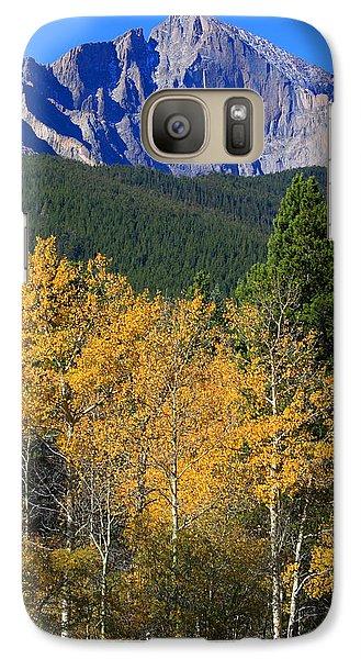Autumn Aspens And Longs Peak Galaxy S7 Case