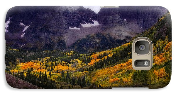 Galaxy Case featuring the photograph Autumn At Maroon Bells by Ellen Heaverlo
