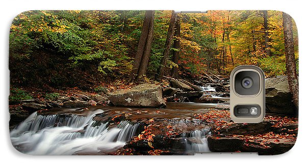 Galaxy Case featuring the photograph Autumn At Ricketts Glen by Dan Myers